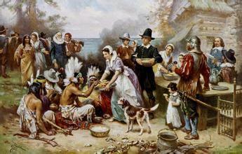 感恩节的习俗