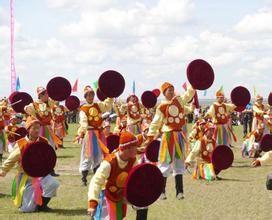 鄂温克族的传统节日图片