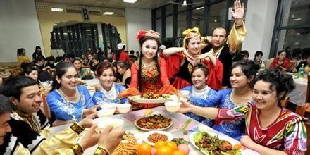 维吾尔族的传统节日图片