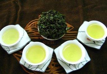 乌龙茶茶叶图片