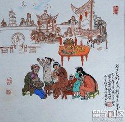 唐代七夕节习俗