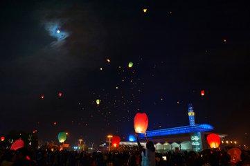 唐代元宵节放灯习俗