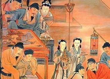 倘若对中秋节的风俗活动探幽溯源,可从先秦时代谈起。  中秋节的起源与我国古代秋祀、拜月习俗有关。