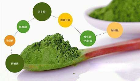 茶叶的营养成分