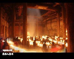"""农历正月十五为元宵节,也称""""上元节""""。这天晚上,徽州各地有吃元宵、闹花灯之习俗。元宵俗称""""汤圆"""""""