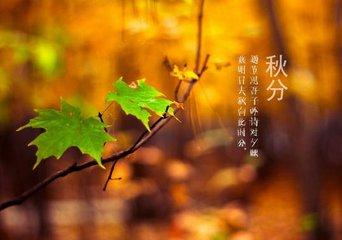 秋分是哪一天  秋分是在每年公历9月23日或24日之间,节令交秋分,这时太阳运行到黄经180度,黄道与赤道相