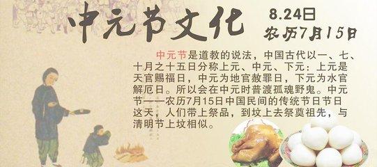 中元节是什么节