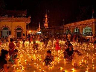 缅甸中秋节