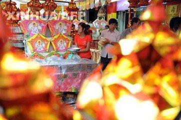 柬埔寨中秋节