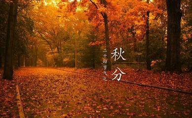 秋分的诗句:秋分早