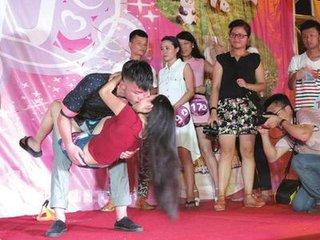 七夕的接吻比赛