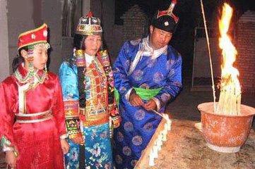 达斡尔族元宵节图片