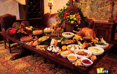 庆祝第一个感恩节