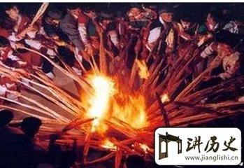 傈僳族火把节的传说