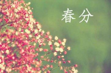 春分春补图片