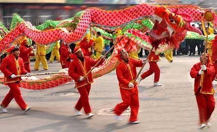 春节习俗舞龙灯的来历
