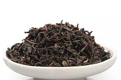 黑茶的茶色