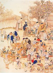 唐代上元节习俗