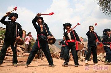 布朗族春节