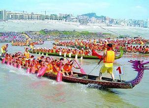 端午节龙舟竞渡的习俗及歌谣