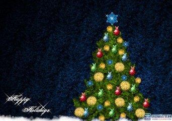 圣诞树的由来