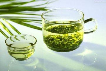 绿茶叶的作用图片