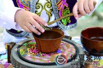 撒拉族三炮台碗子茶