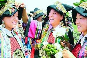 藏族采花节