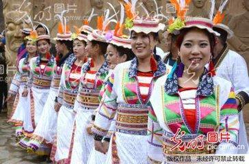 白马人的传统节日