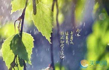 雨水时节,天气变化不定,忽冷忽热,这样的气候条件对人体健康危害很大,所以大家要注意保健,防止一些