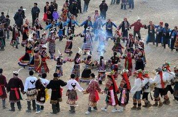 陇南藏族春节