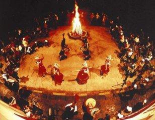 腊罗人火把节的传说