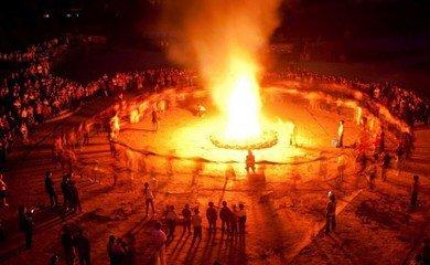 彝族火把节与印第安人火把节