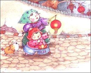 火树银花元宵节图片