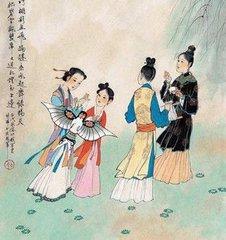 明清时期清明节习俗