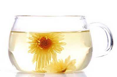 菊花茶  菊花,是我国人民普遍熟悉、喜爱的花卉之一,既供观赏,又可药用,也是菊花茶的主要原料。值每年