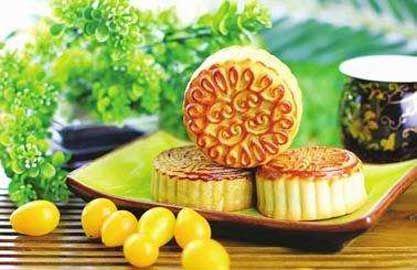 中秋节吃月饼的由来图片