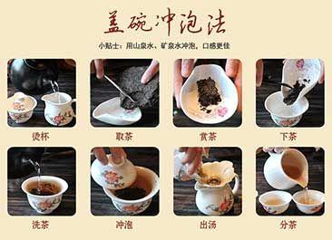 泡茶的方法