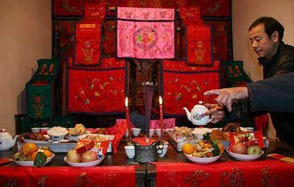 浮梁春节祭祖
