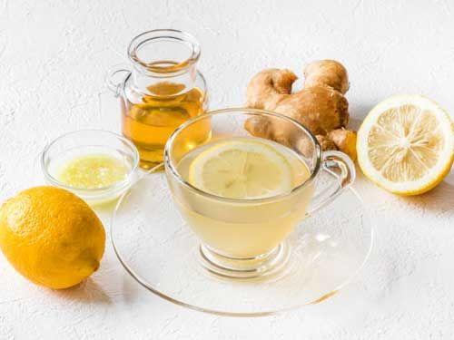 柠檬姜茶图片