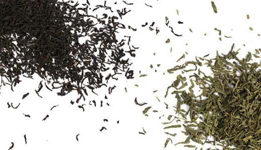 平均一杯绿茶含有比红茶少约1/2的咖啡因。根据所应用的冲泡时间,这可以更进一步。事实上,与普遍的看法