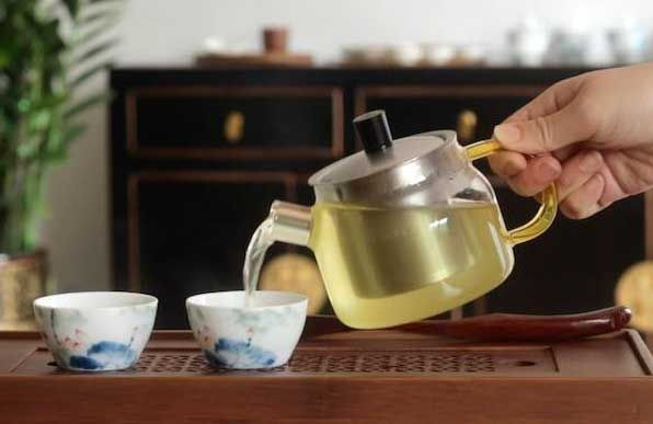 再次冲泡苦荞茶