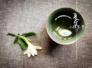 夏至茶语:自笑禅心如枯木