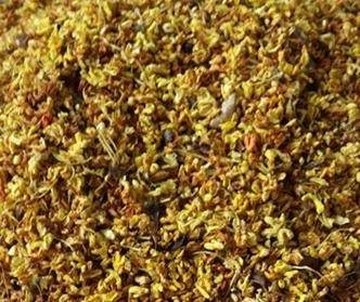 桂花,其香味浓厚,高雅、持久,不论是窨制红茶、绿茶、乌龙茶都可以取得比较好的窨花效果,是种多