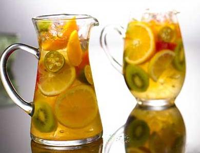 自制水果茶的做法!