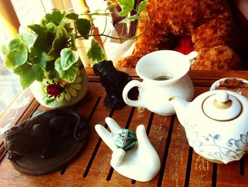喝茶对熬夜的作用!