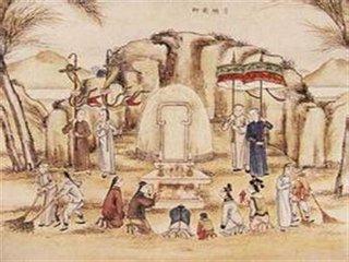 清明节是一个祭祀祖先的节日,主要是扫墓,是慎终追远、敦亲睦族及行孝的具体表现。扫墓源于5000年前的