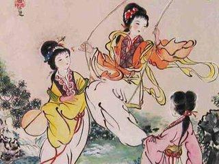 清明节的习俗丰富有趣,除了讲究禁火、扫墓,还有荡秋千、游春踏青、蹴鞠、打马球、插柳等一系列风俗体