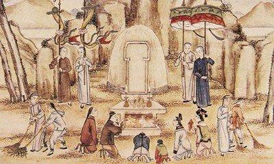 清明祭祖  古人早已注意到墓地这个空间表征所包含的文化功能,所以才出现了针对坟墓以及墓祭的种种