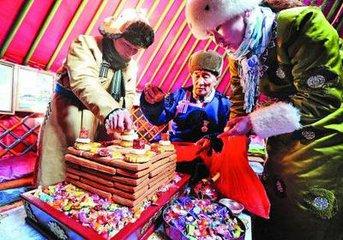 蒙古族春节